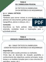 TEMA 8 - Croquis e Simbologia Policial