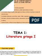 Literatura Tema 1