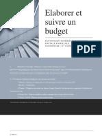 Elaborer un Budget