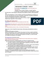 MENSAGEM DA 4ª FEIRA _ 28 10 2020 _ A PREPARANDO O CORAÇÃO _ PARTE II