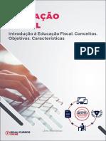 52804890 Introducao a Educacao Fiscal Conceitos Objetivos Caracteristicas