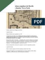 Como 23 judeus expulsos de Recife ajudaram a fundar Nova York