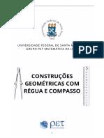 Apostila Finalizada Construções Geométricas Com Régua e Compasso