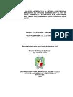 """Construcción de sotanos Bogota ANCLAJES ACTIVOS """"SPRINGSOL"""" suelos blandos"""
