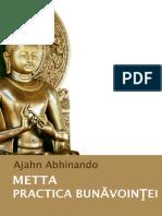 Metta Practica Bunavointei - Ajahn Abhinando