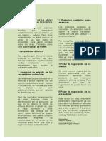 PRODUCTIVIDAD DE LA MANO CON LAS 5 FUERZAS DE PORTER