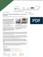 Condenan a Miguel Ángel Ramírez a tres años de cárcel - La Provincia - Diario de Las Palmas