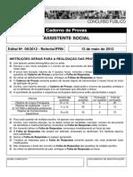 P06 - ASSISTENTE SOCIAL
