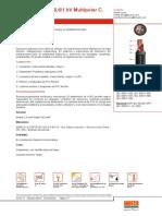 Certificado de Calidad Cable n2xy Clase 5