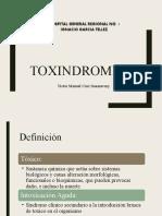 TOXINDROMES