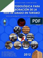 Metodología para tesis de Turismo