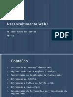 [PET] Desenvolvimento Web I
