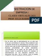 Etimologia de La Administracion. Unidad I