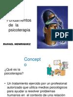 PPT Fundamentos básicos em psicoterapia