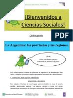 Argentina y las regiones 5° grado