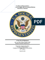 DHS FOIA Report Darrell Issa March 30 2011