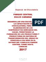 Proyecto Escuela Artesanal de Cacao