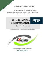 Amostra Petrobras Tecnico Eletrica Circuitos Eletricos Eletromagnetismo