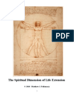 The Spiritual Dimension of LIfe Extension