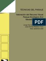 Valoración del Recurso visual. ENCAC 2009 - Presentación