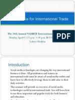 Social Media for International Trade