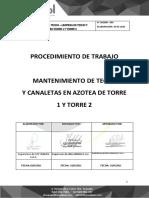 PETS-MANTENIMIENTO DE TECHO  Y CANALETAS EN AZOTEA DE TORRE 1 Y TORRE 2_10-05-2021