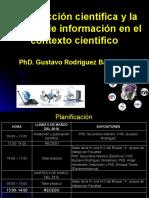 Conferencia para UTC sobre GI cientifica