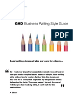 Business Writing Style Guide International