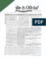 Decreto 5884 de 1955