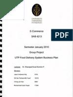 Business Plan - Food