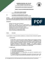 INFORME N° 016 INFORME SITUACIONAL DEL SERVICO DE FARMACIA DEL CSMC VENTANILLA