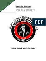 Planificador de Kick Boxing Correg.