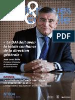 Revue Audit, Risques Et Contrôle - 4e Trimestre 2015