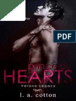 01 Prince of Hearts (Verona Legacy #1) L. a. Cotton