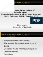 Redundancy with Linux