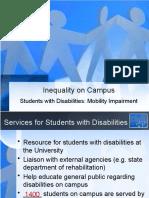 Inequality on Campus