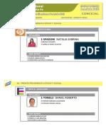 Precandidato Concejales Rosario