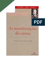 Rudolf Steiner - As manifestações do carma