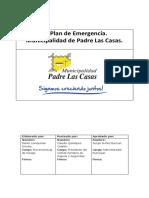 Plan de Emergencia y Evacuacion- Municipalidad - 2