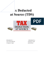 Tax Deducted at Source