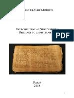 Introduction a l Histoire Des Origines d