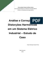 Análise e Correção de Distorções Harmonicas No Sistema Industrial