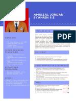 AMRIZAL JORDAN CV-1