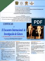 II Encuentro internacional de investigación de Género
