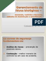 AULA 5 - Gerenciamento, controle e descarte de res+¡duos - Turma B1 2011