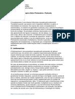 Pesquisa Sobre Protozoários- Pontuada.
