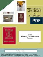 Ministerio Leitor