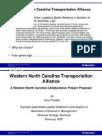 WNC Transportation Alliance, Industrial Executives Forum 03.24.2011