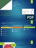 Antagonistas Alfa (Tamsulosina) Efectos Betabloqueantes