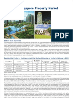 Citigold:Update on Singapore Property Market March 2011